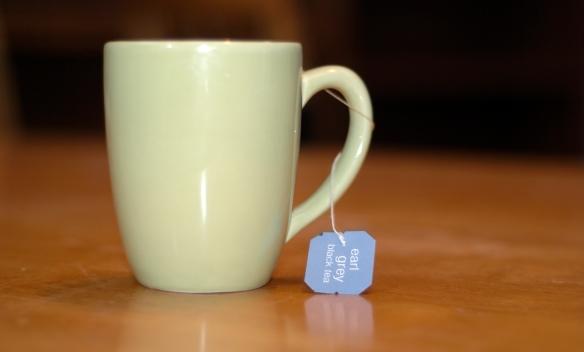 The memories carried in a simple green mug of earl grey tea.