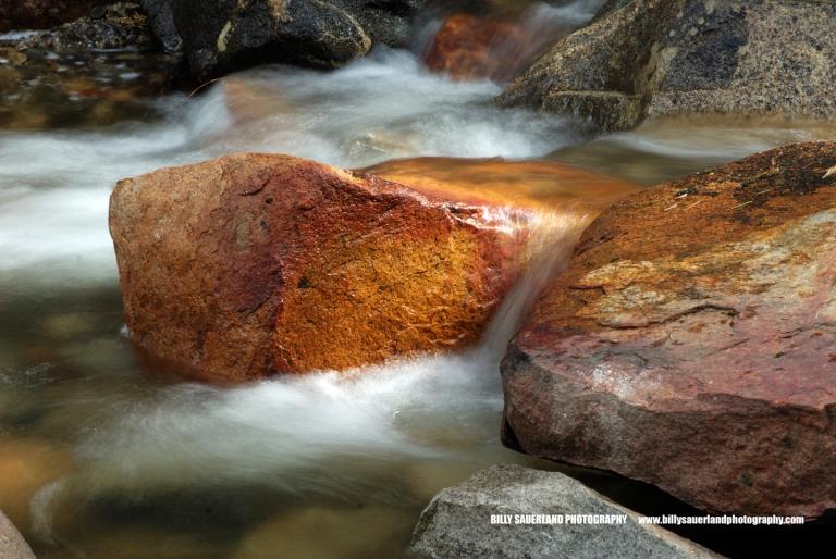 Cascade below Bridal Veil Falls.