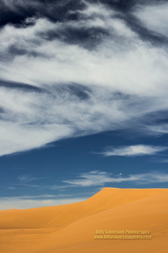 Sand Dune and Clouds at Little Sahara State Park, Oklahoma