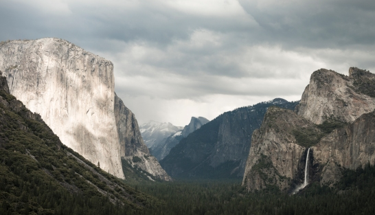 Tunnel View, Yosemite National Park ©Billy Sauerland