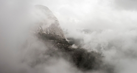 Hidden Half Dome ©Billy Sauerland
